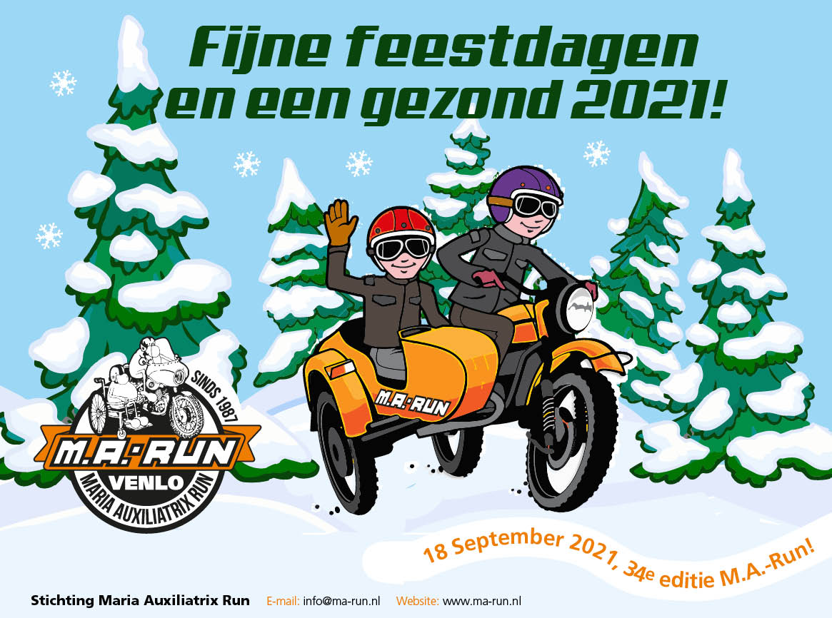Kerstkaart MA run2021